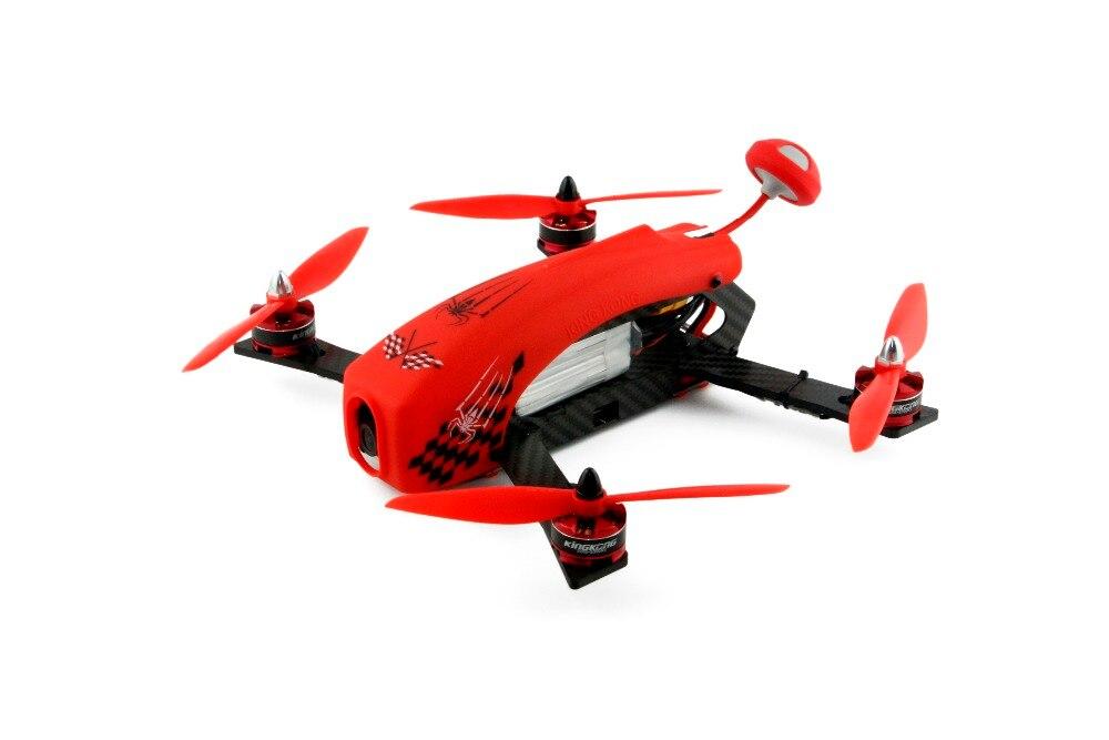 Kingkong DIY паук 260 RTF мини гоночный Drone Quacopter с Камера с Flysky I6S удаленного Управление готов к полету quadkopter