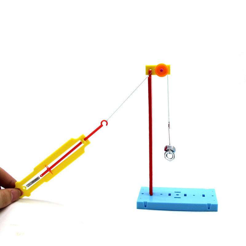 Child Educational Toys Pulley Dynamometer Scientific Experiments Toy Primary School Students DIY Material Best Gifts For Kids