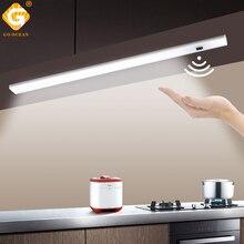 GO OCEAN Under Cabinet Lights Counter Lamp 12V 30CM 50CM Closet Lamps Lighting For Kitchen Bookcase LED Cupboard Light