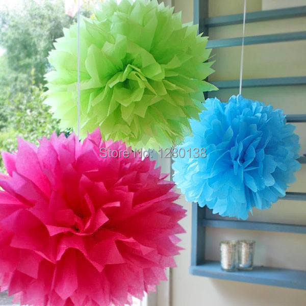 Free shipping 16 inch40cmtissue paper pom poms paper flowers ball free shipping 16 inch40cmtissue paper pom poms paper flowers ball wedding backdrop decoration party pom poms in party backdrops from home garden on mightylinksfo