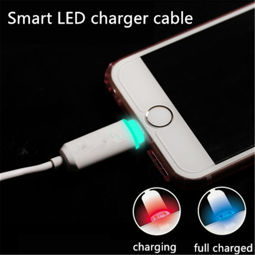 21a Fast Charging With Led Micro Usb Safe Charger 100cm For Kabel 2 In 1 Charge Ampamp Data Iphone And Android X 8 7 6 6s 5 Samsung S7 S3 S4 S2 Huawei Xiaomi Mi5 Mobile Phone Chargers From