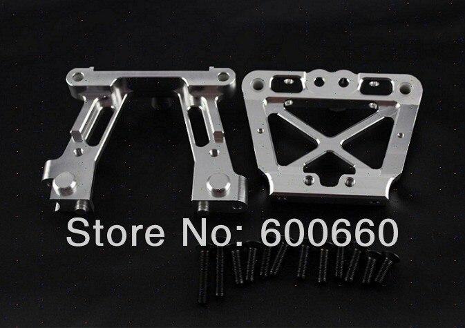 все цены на Baja upgrated parts Alloy bulk head set for 5B 5T 5SC silver orange available 85176 онлайн