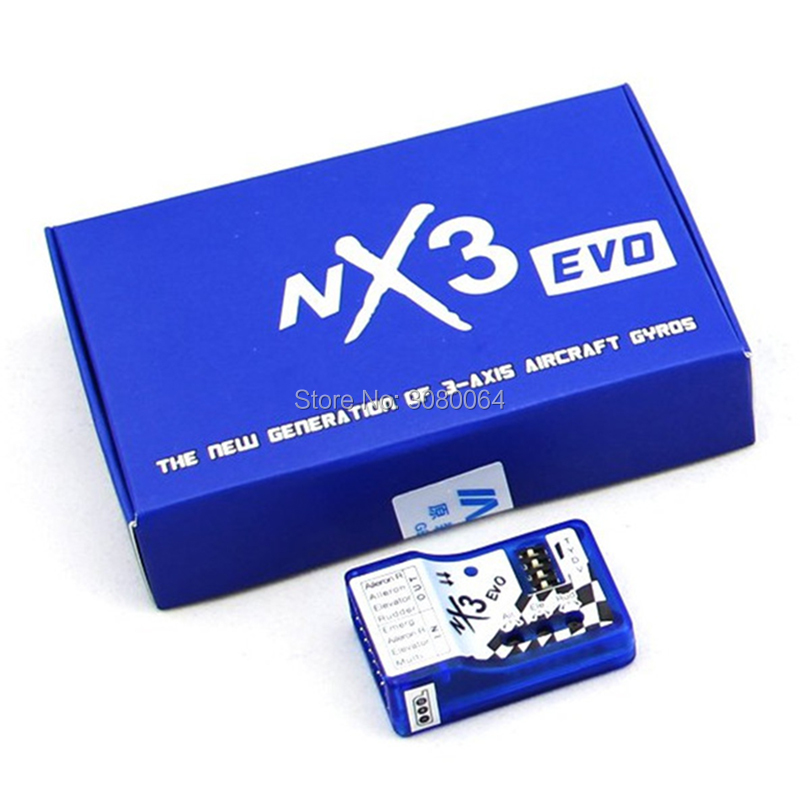 1 PCS à voilure Fixe Vol Gyro Équilibreur NX3 EVO Vol Stabilisation Contrôleur NX3 EVO Vol Contrôle pour 3D 2D vol