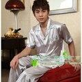 Promoción del envío del verano manga corta ropa de seda de imitación conjunto de adolescentes , más tamaño salón