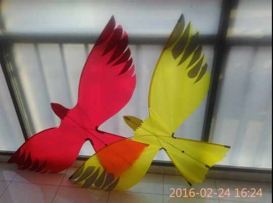 beach 3d ripstop nylon eagle toy flying birds stunt kites for adults  windvane hawk kite windsocks sports cometa kite single line
