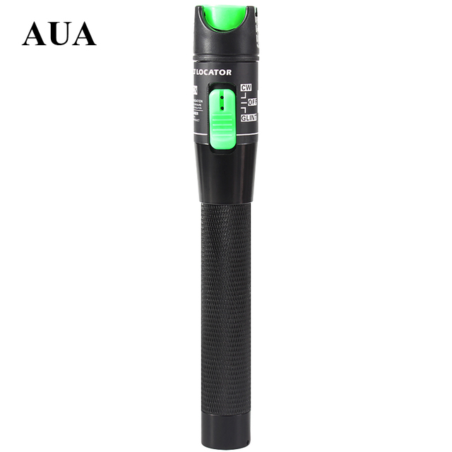 Free shipping AUA New laser Pen 20mW 20km fiber optic visual fault locator ,Test Laser Product 650nm For CATV