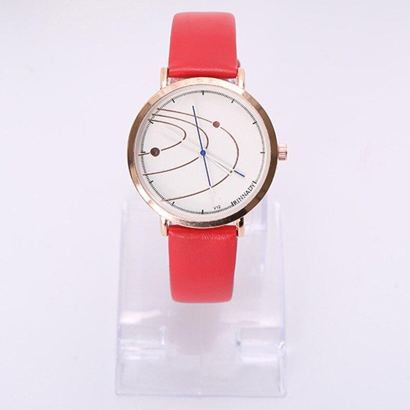 Women's Watches Fashion Roman Numerals Faux Leather Analog Quartz Wrist Watch new women s fashion geneva roman numerals faux leather analog quartz wrist watch female clock