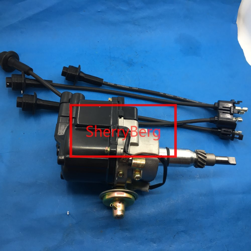 free shipping DISTRIBUTOR fit for TOYOTA ELECTRONIC CARBURETTOR ENGINE 2 VAC ADVANCE 1Y 2Y 3Y 4Y