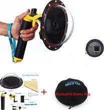 6 accessories new novos acessórios para go pro montar porta cúpula à prova dwaterproof água para gopro hero 4 3 + 3 montagem da câmera
