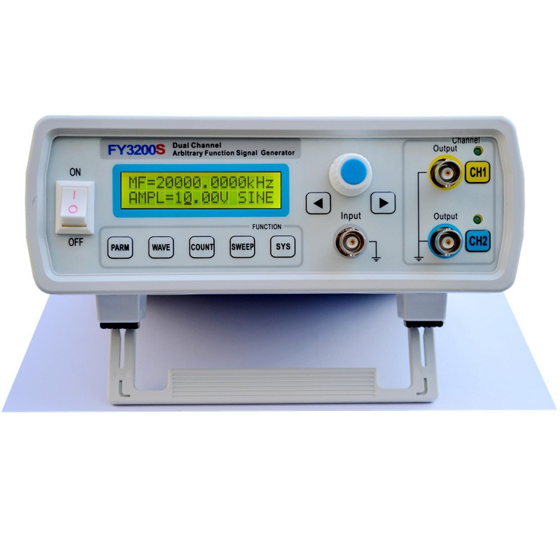 FeelTech FY3206S 6MHz NC dual channel arbitrary waveform DDS Function Generator / source / frequency meter / Signal Generators mhs 5212p power high precision digital dual channel dds signal generator arbitrary waveform generator 6mhz amplifier 80khz