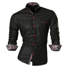 2016 Spring Autumn Features Shirts Men Casual Jeans Shirt New Arrival Long Sleeve Slim Fit Male Z027