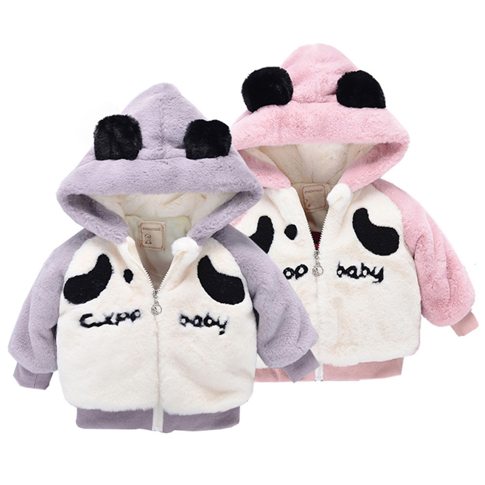Baby Infant Boy Autumn ears Cartoon Hooded Coat Cloak Jacket Thick Warm Cloth New Arrival Dropshipping