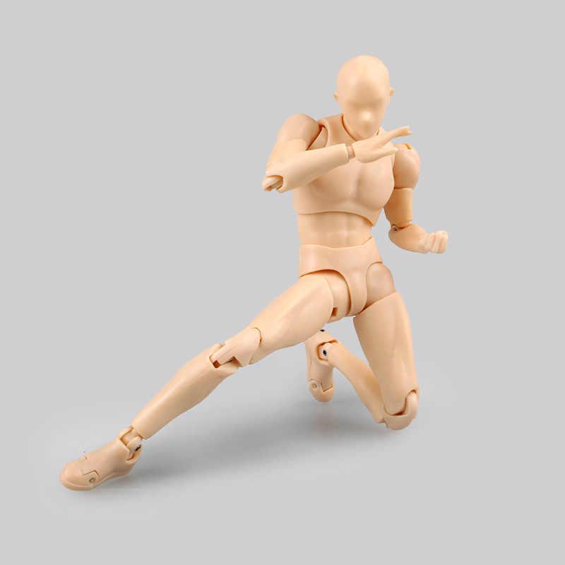 Высокое качество тела KUN/тело CHAN BJD серый цвет Ver. Черный оранжевая, из ПВХ, движущаяся фигурка, Коллекционная модель, игрушка
