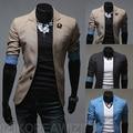 2014 весна мужская тонкий полурукав костюм модные свободного покроя пиджак мужская одежда верхняя одежда