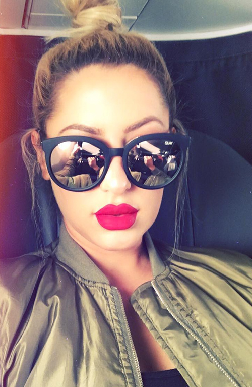 HTB1rS2cPXXXXXc0aXXXq6xXFXXXY - Cat Eye Pink Mirror Square Sunglasses 2018 New Fashion