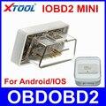100% Первоначально XTOOL IOBD2 Мини Работает На Android IOS Мини IOBD2 Bluetooth OBD2 Диагностический Инструмент Же Как ELM327 ELM 327 Свободный Корабль