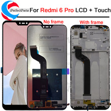 "2280*1080 5.84"" Xiaomi redmi 6pro 6 pro LCD display+touch screen digitizer Assembly+frame For Xiaomi redmi MiA2 Mi A2 lite lcd(China)"