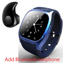 Newest M26 Luxury Bluetooth 4 0 Smart Watch Barometer Alarm Clock Interactive Music Pedometer for Android
