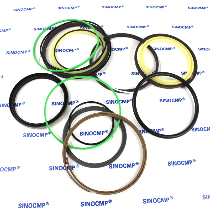 For Komatsu PC200-7 PC210-7 Arm Cylinder Repair Seal Kit 707-99-57160 Excavator Gasket, 3 months warranty high quality excavator seal kit for komatsu pc60 7 arm cylinder repair seal kit 707 99 38230