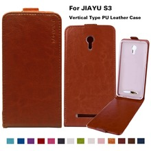 Business Style Flip Leather Phone Cases For Jiayu S3 5.5inch Cover PU Case 14 Fashion Colors With Vertical Magnetic 2016 New