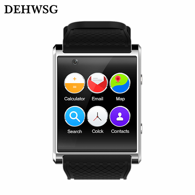 Bluetooth smart watch D11 Android 5.1 MTK6580 smartwatch 3G+WIFI+GPS 2.0M Front camera wristwatch For apple xiaomi Samsung phone