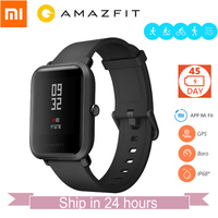 IN Stock English Version Original Huami Amazfit Bip BIT PACE Lite Smart Watch Mi Fit GPS