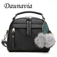 DAUNAVIA Brand Women Bag Crossbody Bags For Women Messenger Bag Women Leather Shoulder Bags Famous Designer