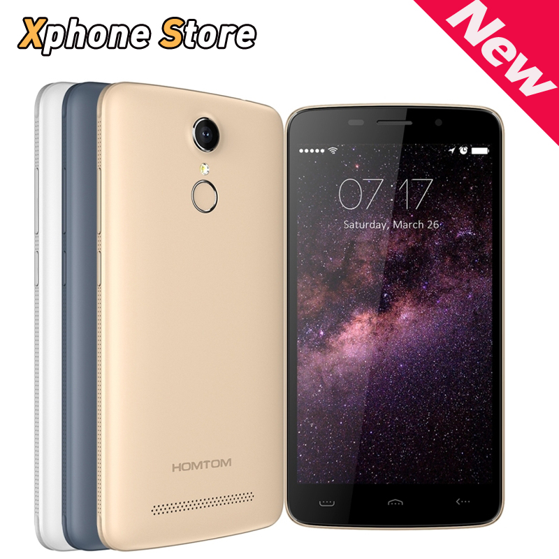 Touch ID HOMTOM HT17 H17 PRO 5 5 inch Android 6 0 4G LTE Smartphone 8GB