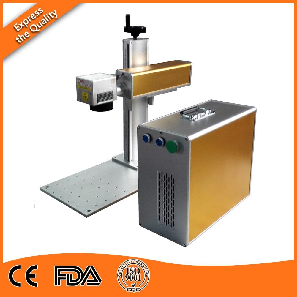 High Quality 20W 30W 60W 100W JPT Desktop MOPA Laser Etching Machine By DHL Fast Shipping