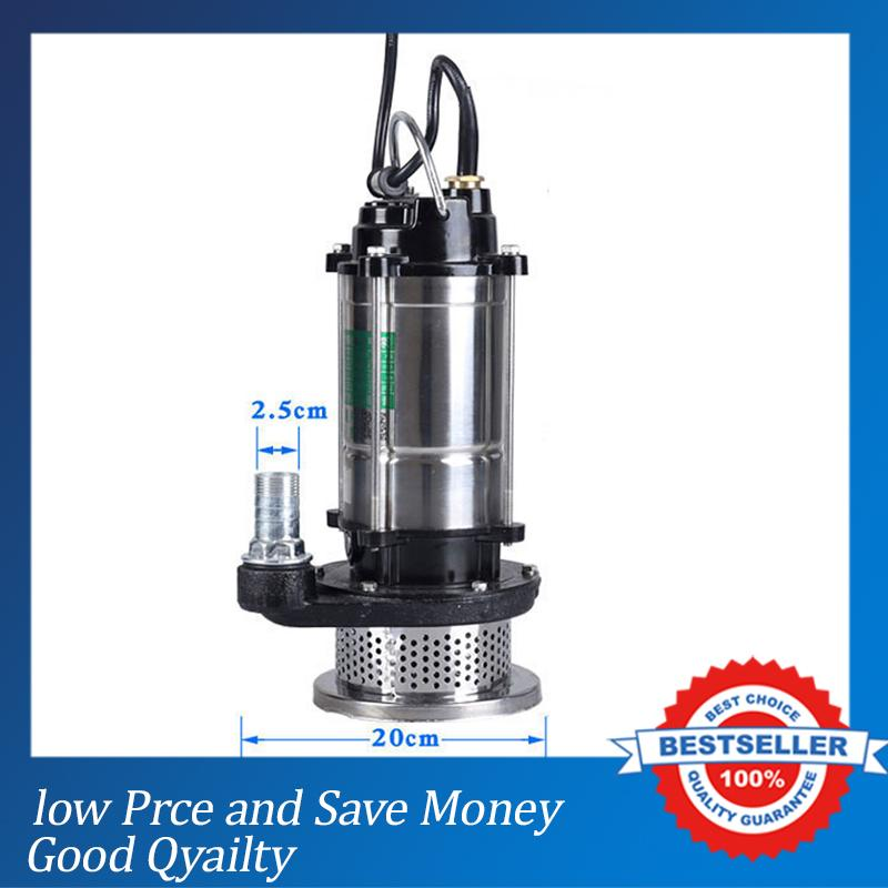 1500W Non-clogging Dirty Water Transfer Pump 220V Electric Submersible Pump Price stainless steel 220v portable electric water transfer pump sump submersible utility garden pool
