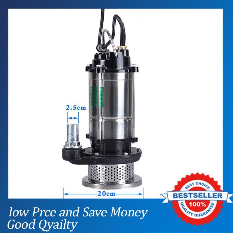 220 Вт незакупоривающий грязный водяной насос 1500 В в Электрический погружной насос цена