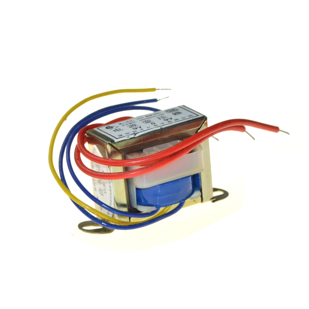 цена EI57*35 Double Group Output Voltage 25W EI Ferrite Core Input 220V 50Hz Vertical Mount Electric Power Transformer