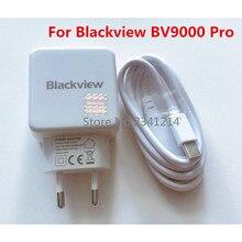 Blackview BV9000 Pro USB адаптер питания зарядное устройство ЕС вилка путешествия импульсный источник питания+ Usb кабель type-C линия передачи данных