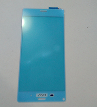 New Original White Front Glass Panel Touch Screen Digitizer Replacement For Sony Xperia Z3 L55T D6603 Free Shipping