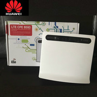 Unlocked Huawei B593 B593u 12 4G LTE Router 4G Router with Sim CardSlot 4G LTE WiFi Router with 4 Lan Port