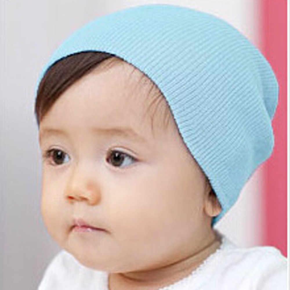 ฤดูหนาวฤดูใบไม้ผลิหมวกเด็กเด็กหญิงนุ่มหมวกเด็กฤดูหนาวเด็กอบอุ่นถักหมวกผ้าฝ้าย Beanie เด็กวัยหัดเดินเด็กสาวหมวก Boy