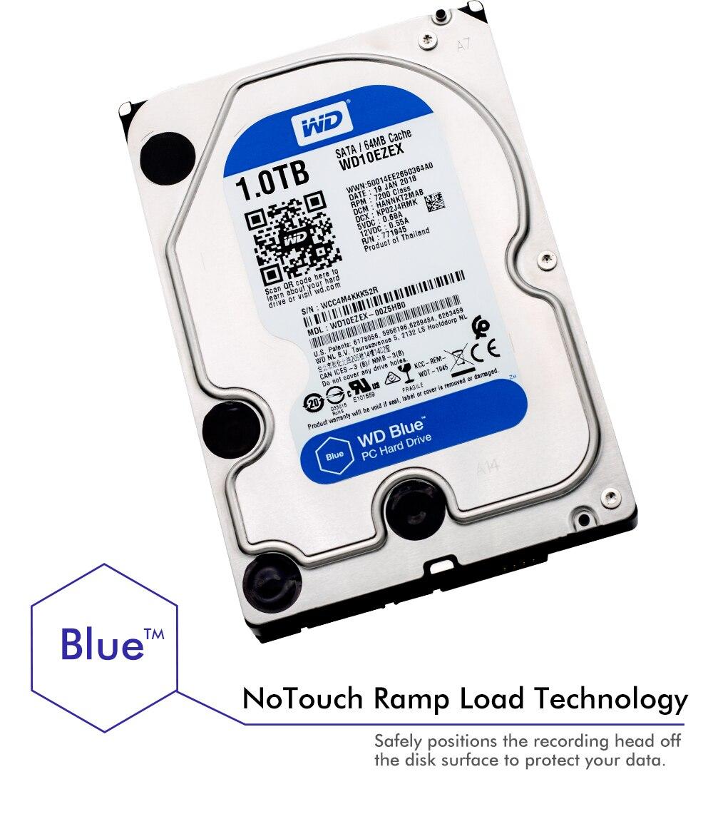 Western Digital Wd Blue 1tb Hdd Sata 35 Inch Internal Hard Disk Hardisk Pc 320gb New 01 02 04 06
