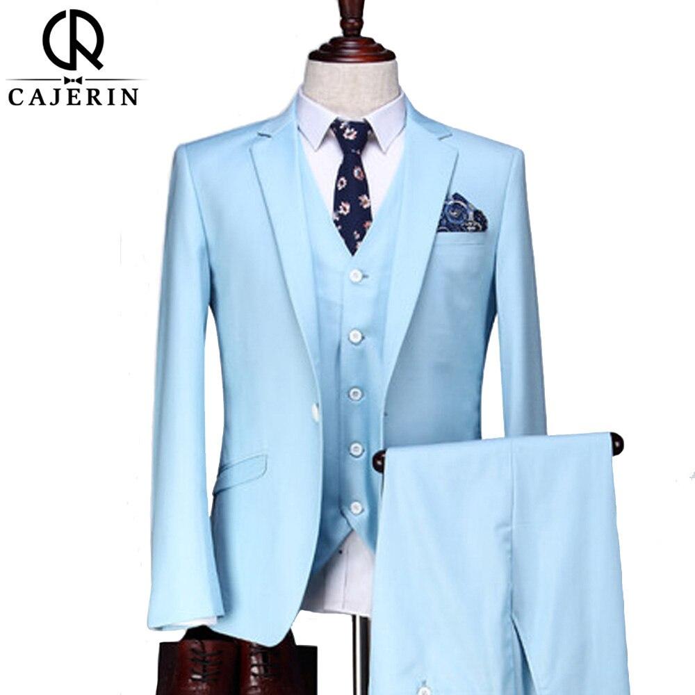 Cajerin Men\'s Clothing England Style Wedding Men Suit Tailor Suit ...