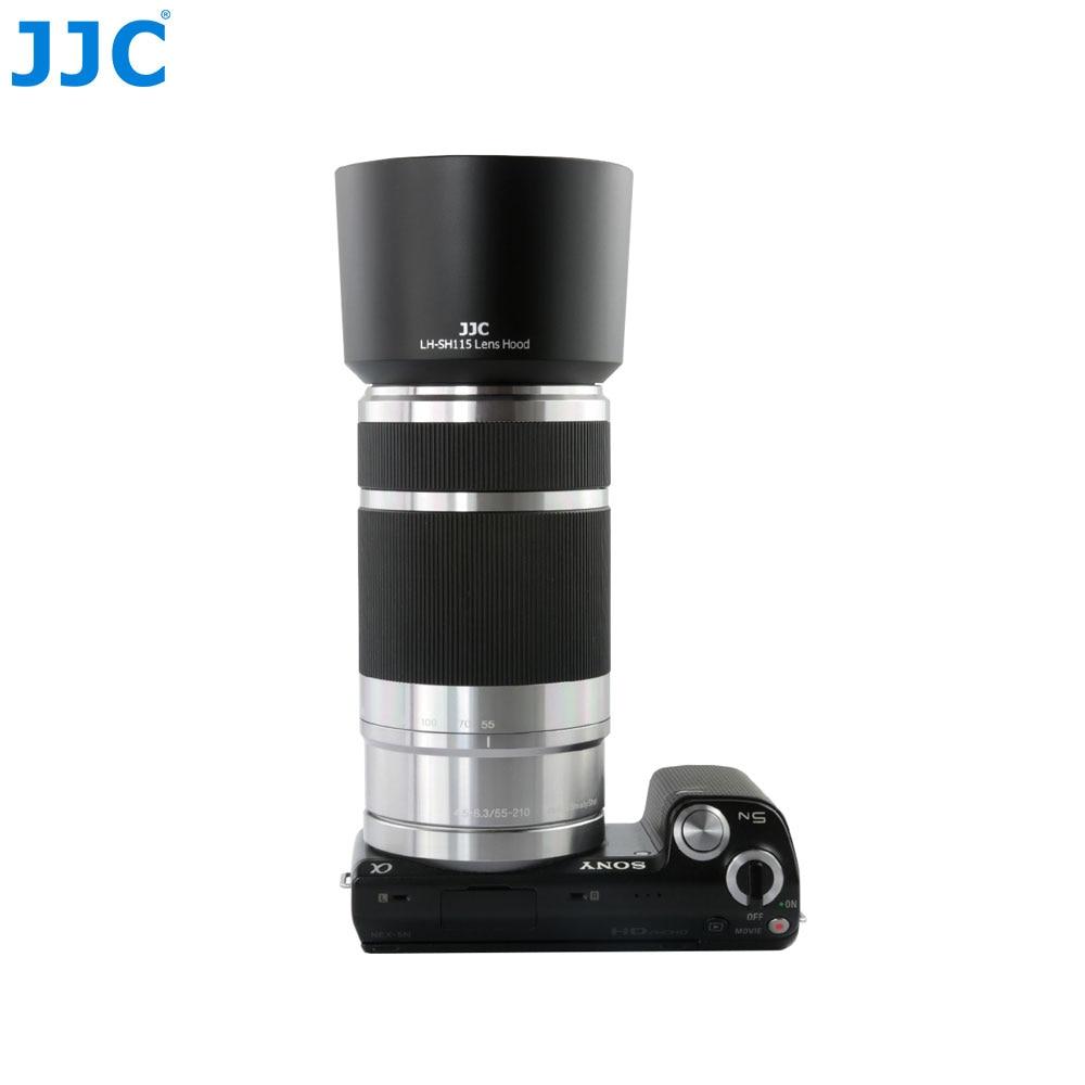 JJC Lens Hood Tube For SONY E 55-210mm F/4.5-6.3 OSS E-Mount Lens Replaces ALC-SH115