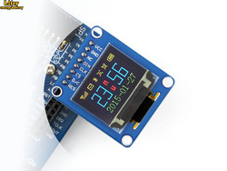 """0.95 cal RGB OLED (B)  0.95 """"wyświetlacz  interfejs SPI  zakrzywione/poziome pinheader  SSD1331 układu  96*64 rozdzielczość  65 K kolorowe"""