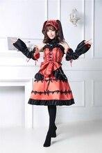 DATE A LIVE Tokisaki Kurumi Formal Dress Uniform Outfit font b Anime b font font b