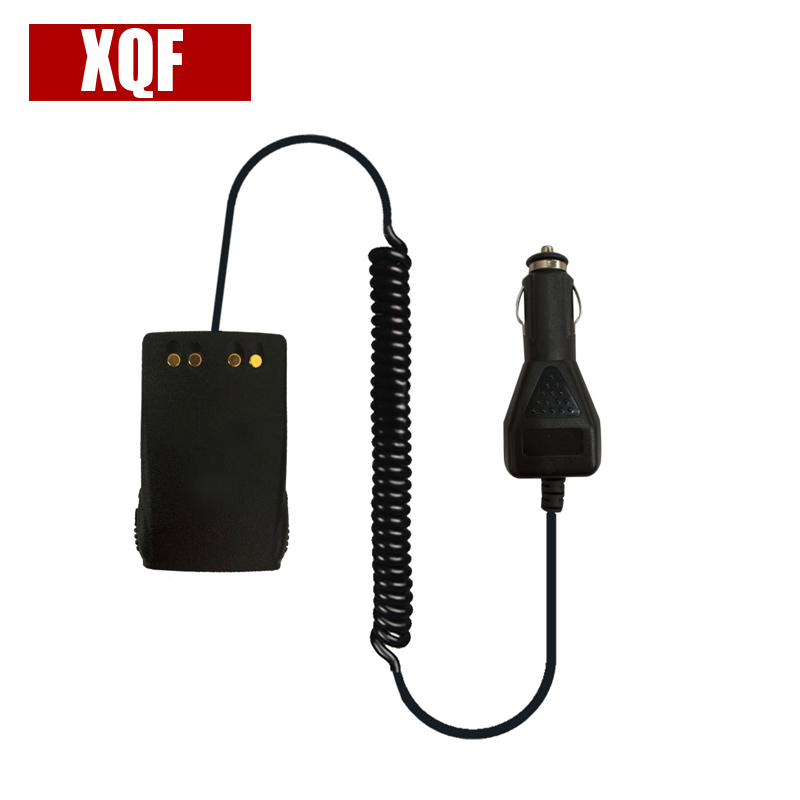 XQF 10PCS  Car Battery Eliminator Adaptor For Motorola Radio GP344 GP388 GP328 Plus EX500 EX600