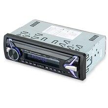 HEVXM 1012 12 v 1 Din araba MP3 playe Araba Renk Işık MP3 Çalar BT çok fonksiyonlu MP3 çalar,
