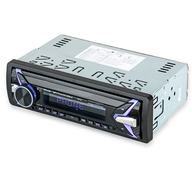 HEVXM 1012 12V 1 Din car MP3 playe  Car  Color Light MP3 Player  BT multi function MP3 player,