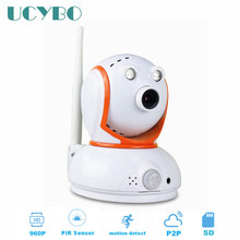 960P mini wireless wifi ip camera 1.3mp pan tilt IR night vision audio network onvif video security ip cam micro sd tf card slot