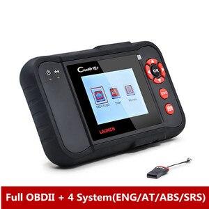 Image 2 - 起動X431 creader viiプラスvii + オートコードリーダーOBD2 obd 2 スキャナ起動CRP123 obdii診断ツール自動車スキャンツール