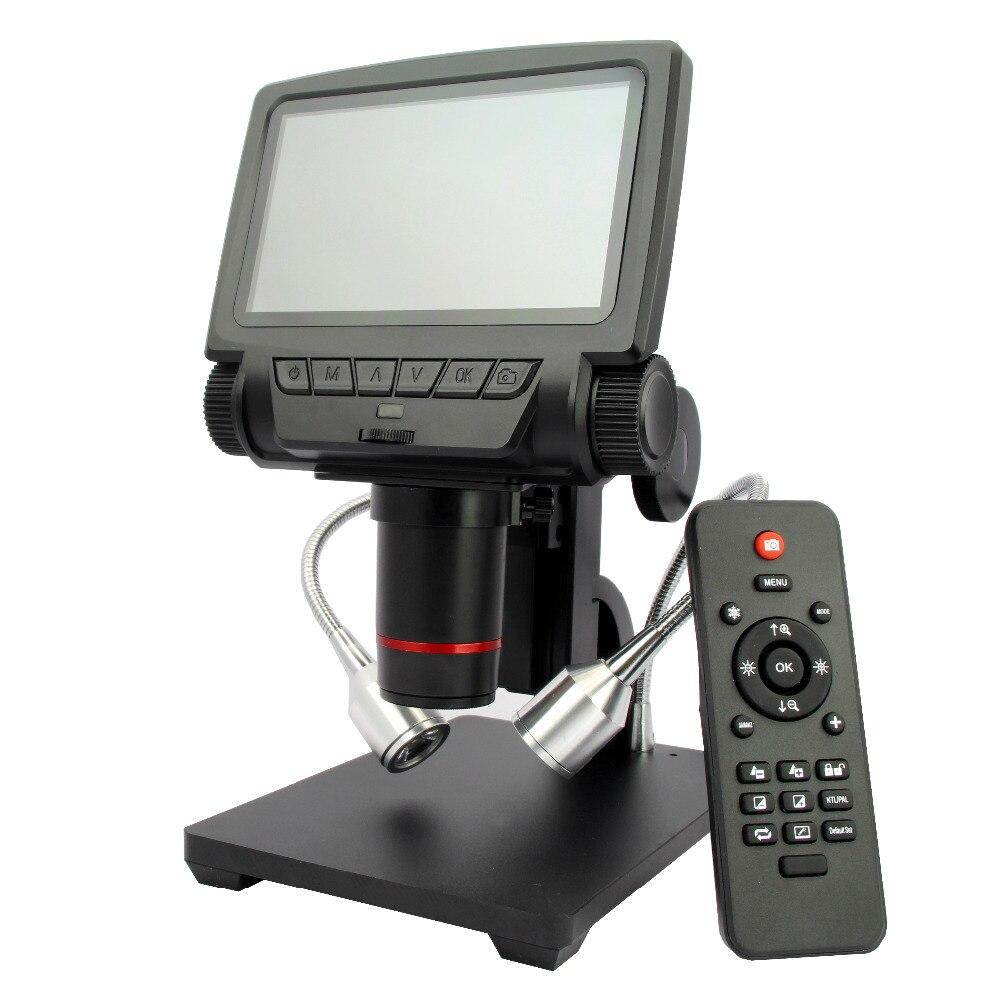 HDMI/AV microscope objet long distance numérique USB microscope pour mobile téléphone réparation à souder outil bga smt montre
