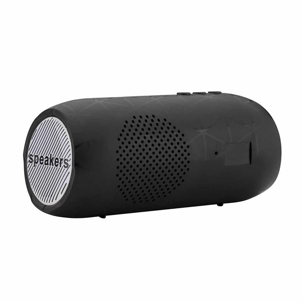 Hi Fi 3D Stereo Speaker Nirkabel Bluetooth Portable Speaker Subwoofer Speaker dengan TF FM Radio Subwoofer