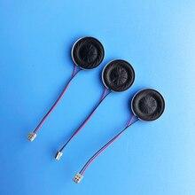 Ультратонкий мини-динамик 8 Ом 1 Вт 8R 1 Вт Диаметр динамика 15 мм толщина 3 мм громкоговоритель с кабелем 40 мм
