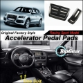Car Accelerator Pedal Pad / Cover of Original Factory Sport Racing Model Design For Audi Q5 SQ5 8R 2009~2015 Tuning